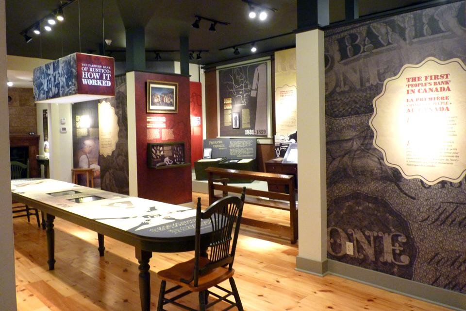 Farmers' Bank of Rustico Museum/Doucet House / Musée de la Banque des Fermiers de Rustico/Musée de la maison Doucet
