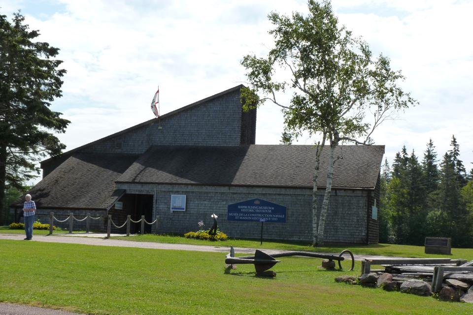 Green Park Shipbuilding Museum/Yeo House / Musée de la construction navale de Green Park/Maison Yeo