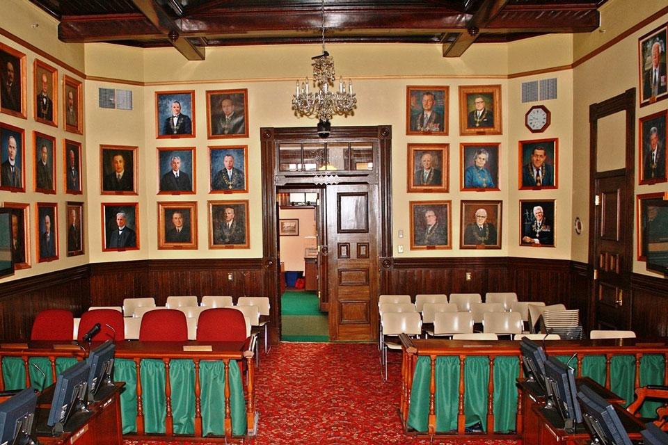 Confederation Chamber / Salle de la Confédération