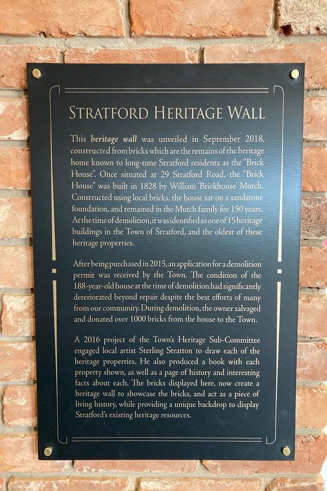 Town of Stratford / Ville de Stratford